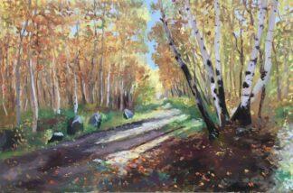 Realistic autumn landscapes