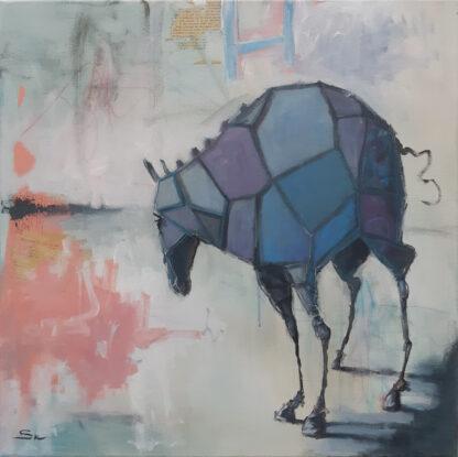 little purple horse